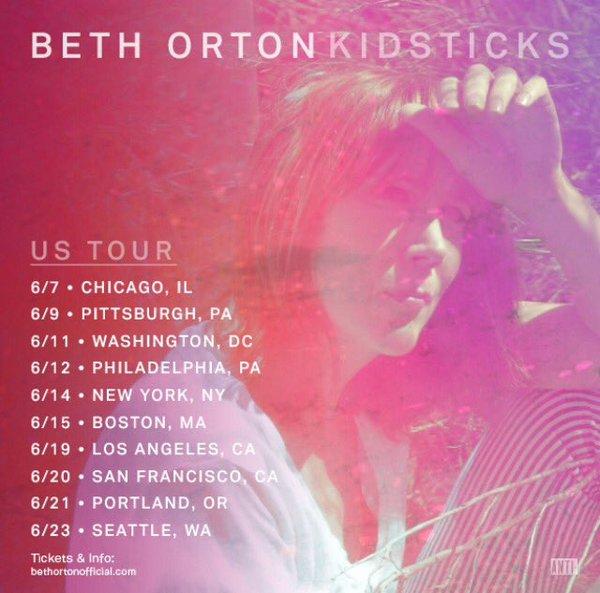 US tour 2016